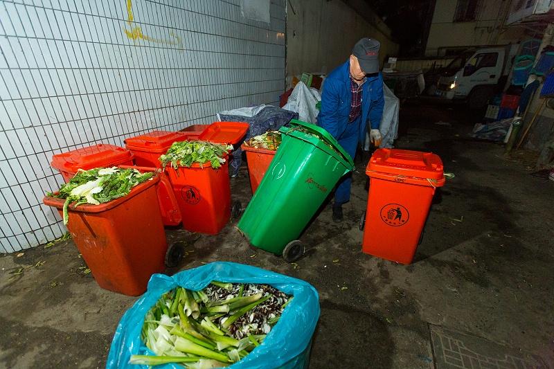 菜市场垃圾