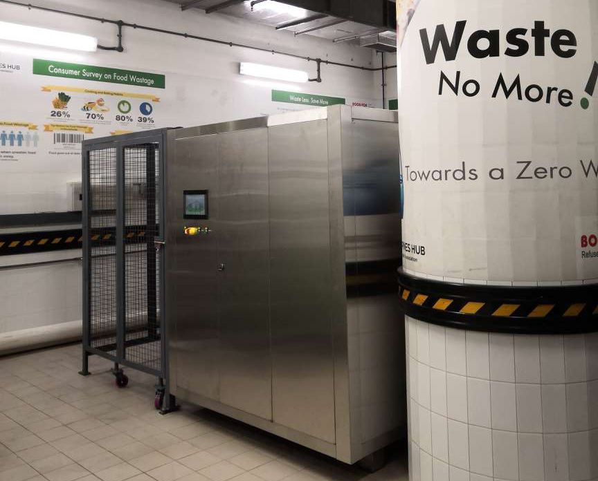 江苏信有达出口餐厨垃圾处理设备