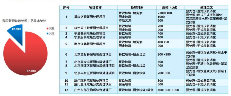 国内工艺技术统计