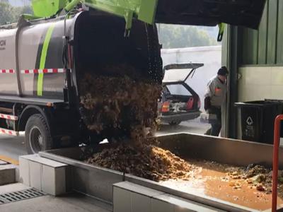 厨余垃圾收运车