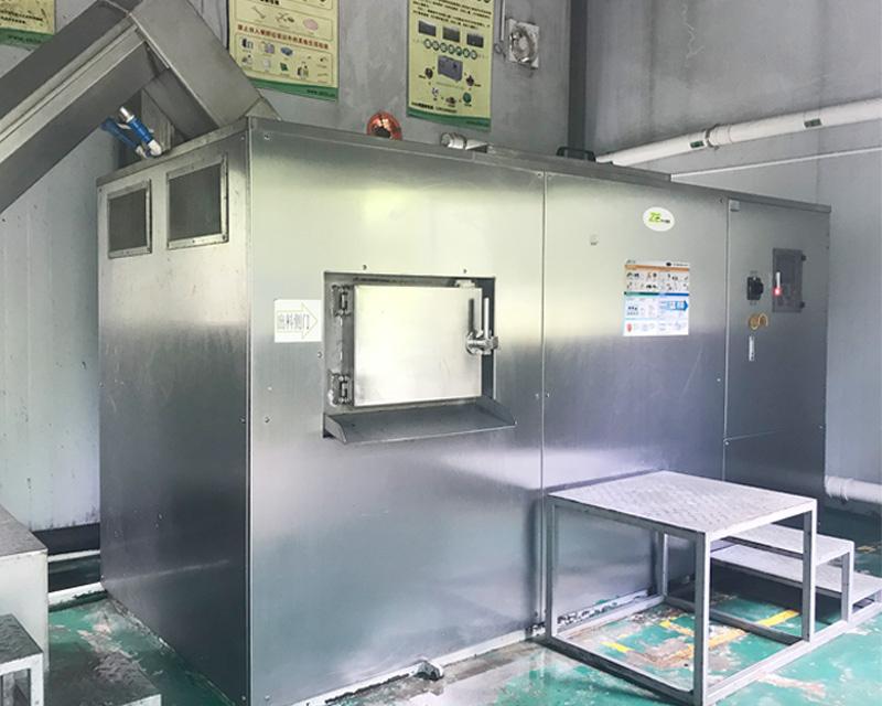 餐厨垃圾将量化处理设备